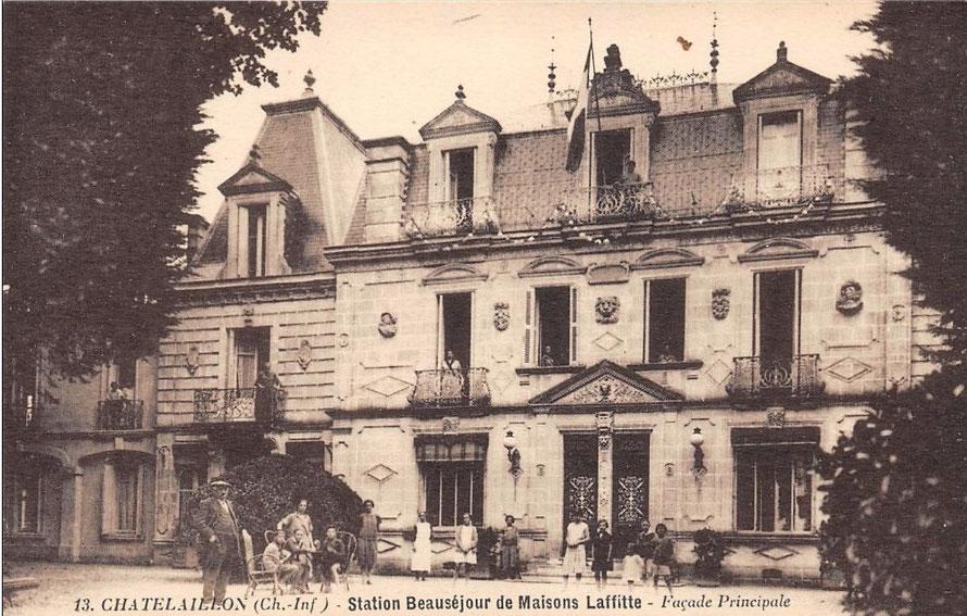 station beausejour de maisons-laffitte à chatelaillon