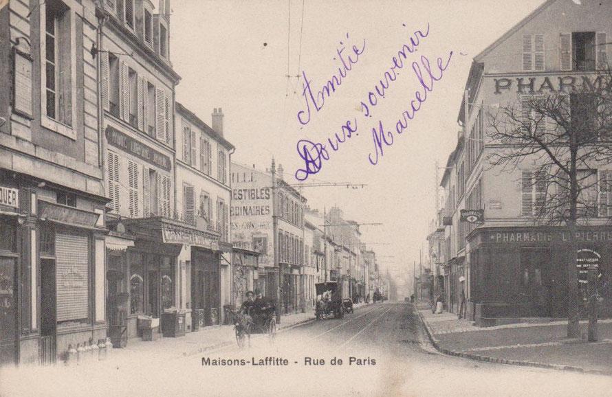 maisons-laffitte, rue de paris
