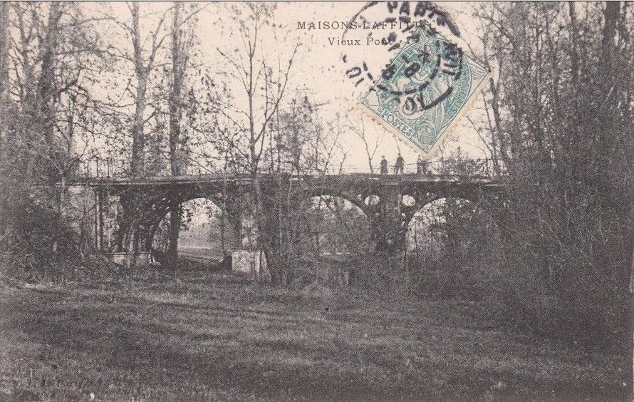 Pont du château de Maisons-Laffitte