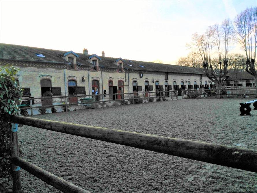 maisons-laffitte ecurie avenue Marivaux