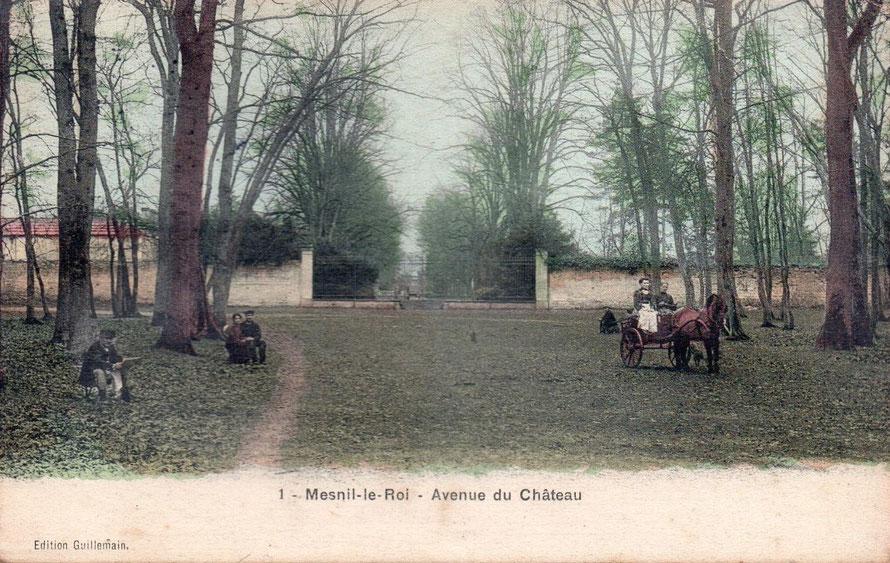 mesnil-le-roi avenue du chateau