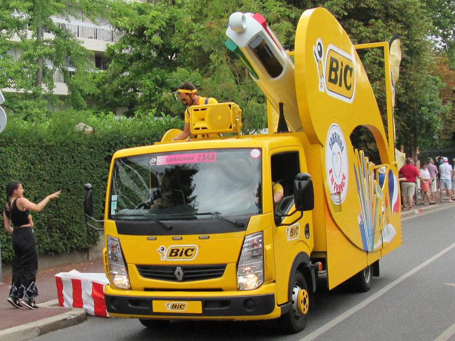 Maisons-Laffitte, passage du Tour de France