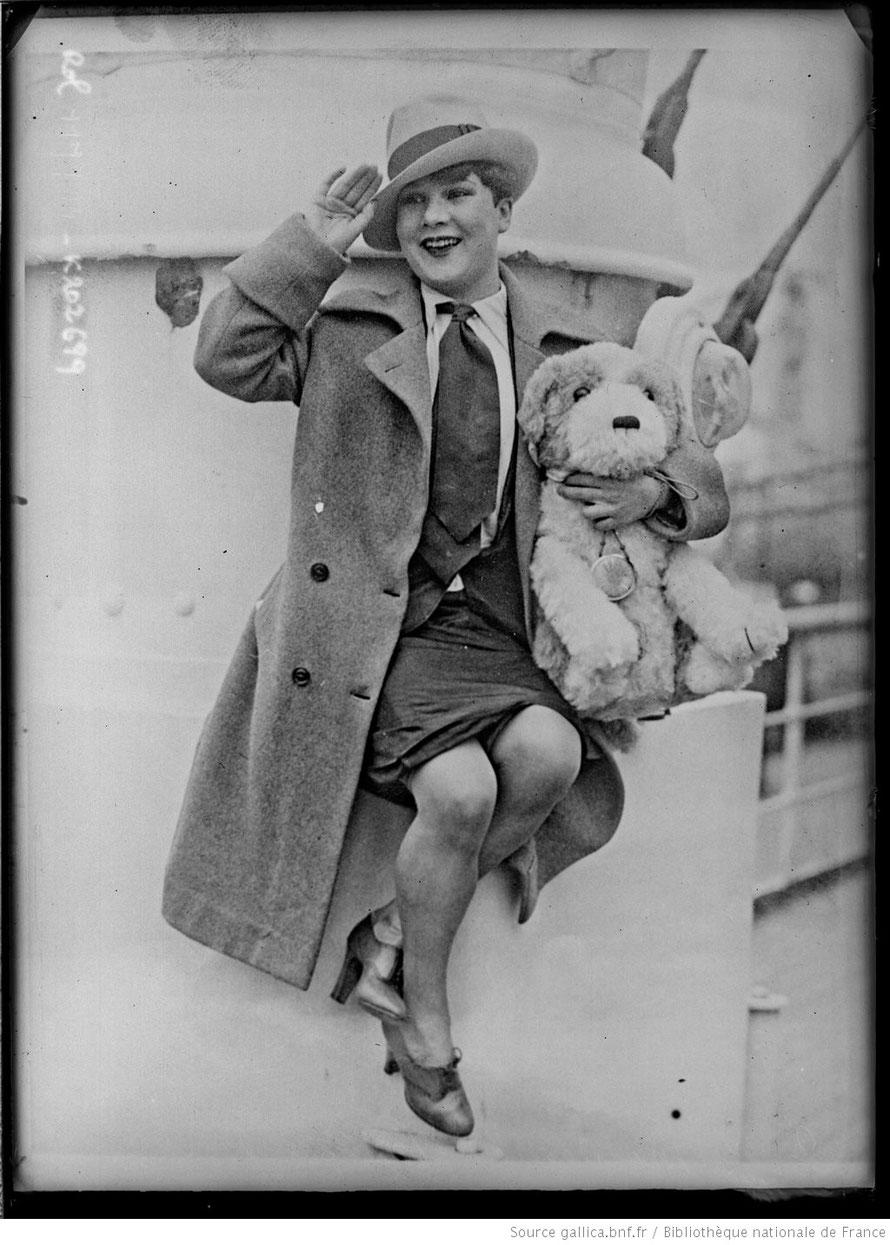 La Môme Moineau en 1927