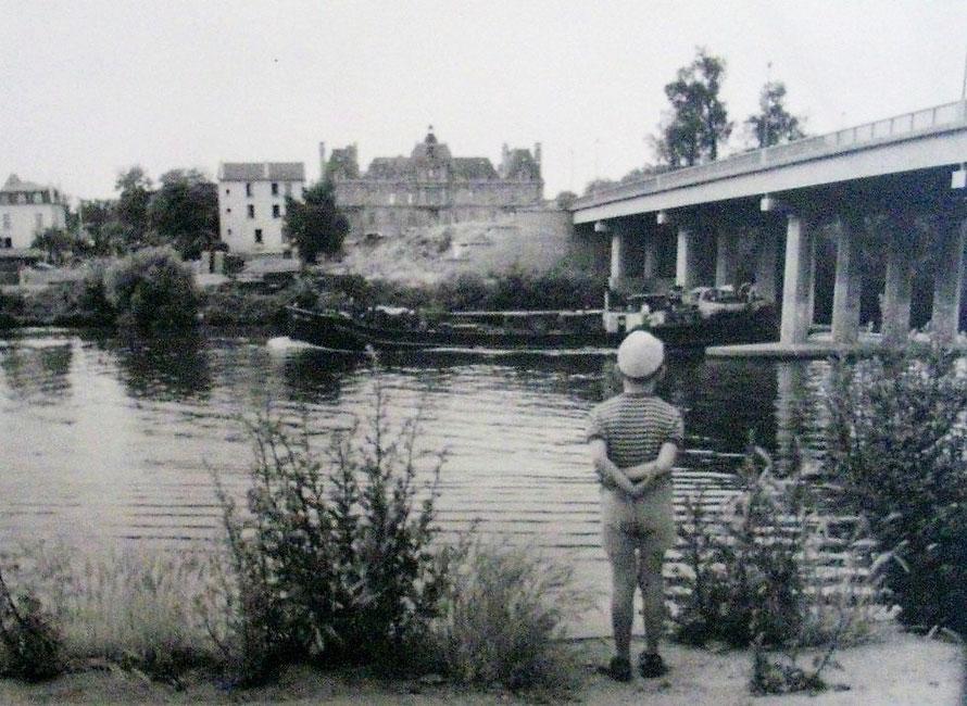 Maisons-Laffitte pont et chateau