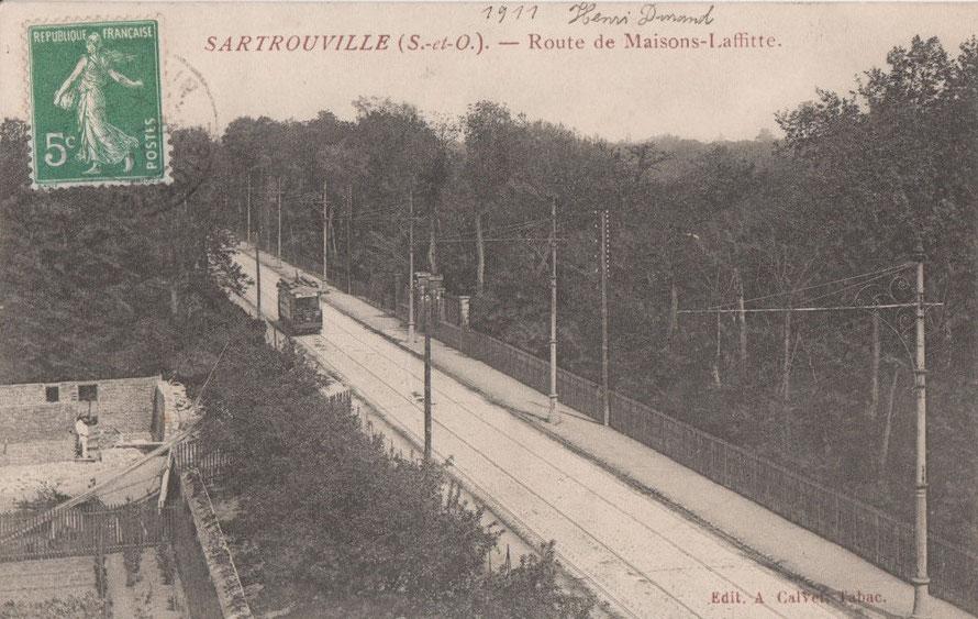 tramway à sartrouville
