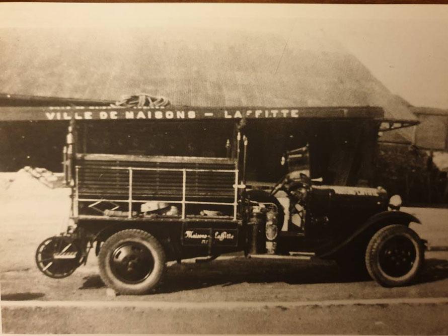 Maisons-Laffitte camion de pompier