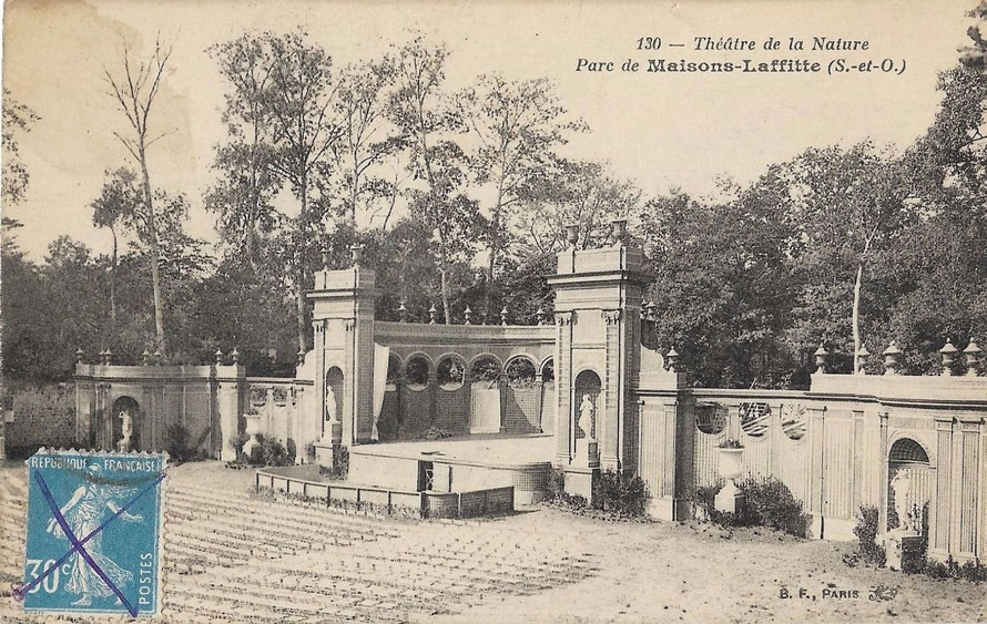 maisons-laffitte theatre de plin air