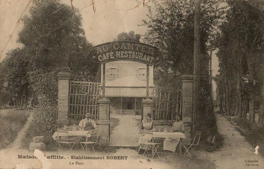 Café restaurant dans le parc du château de Maisons-Laffitte