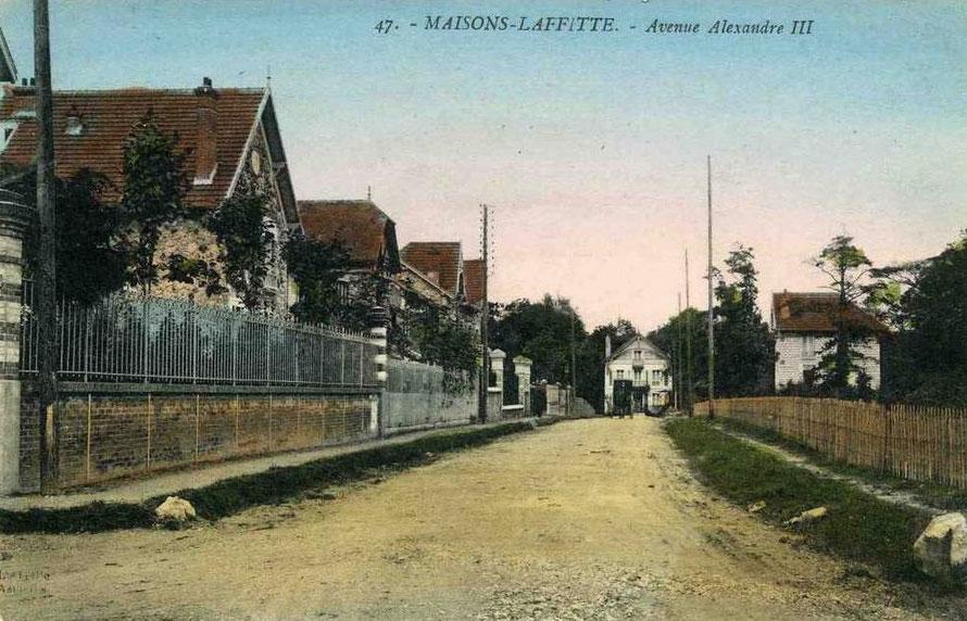 maisons-laffitte avenue alexandre III
