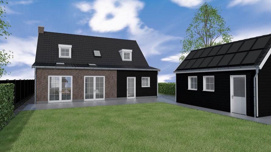 Aanbouw woning Zeeuwse stijl | Wolphaartsdijk, Zeeland