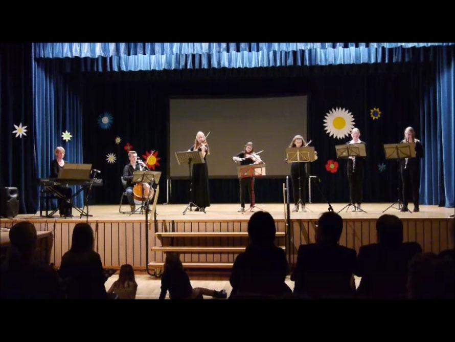 Frühlingskonzert der Heinrich-Grupe-Schule am 18.03.2016 (Kleine Besetzung)