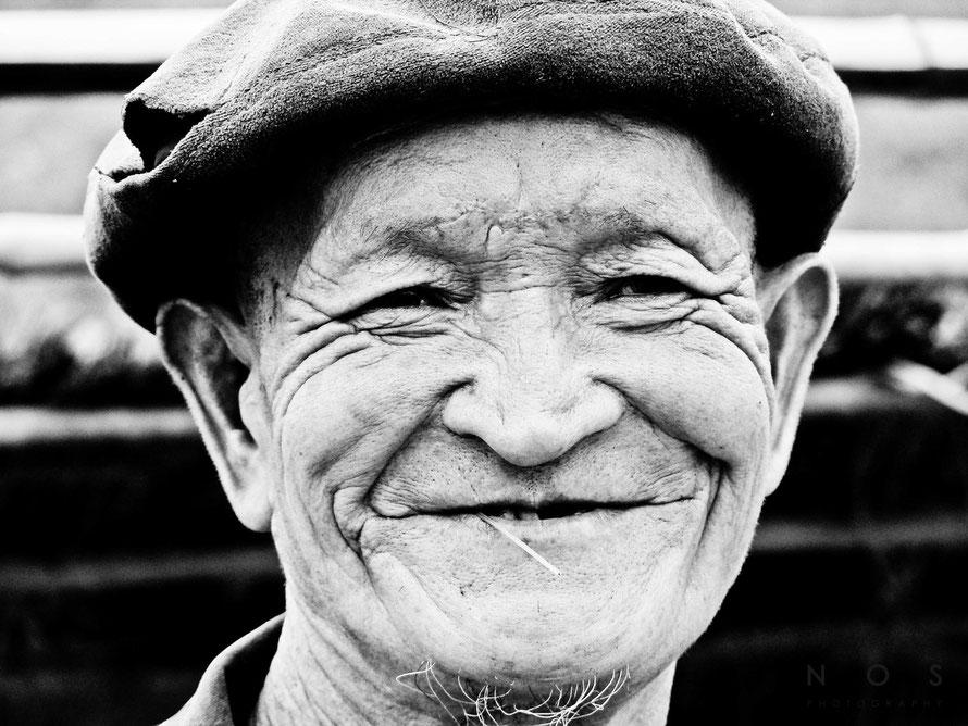 Alter Mann, Vietnam