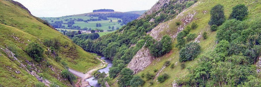 Hills around Dovedale guided walk