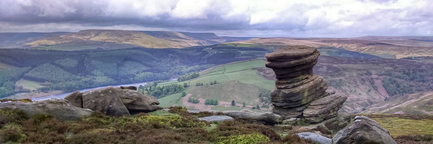 Exploring the Derwent Moors, Easter guided walks.