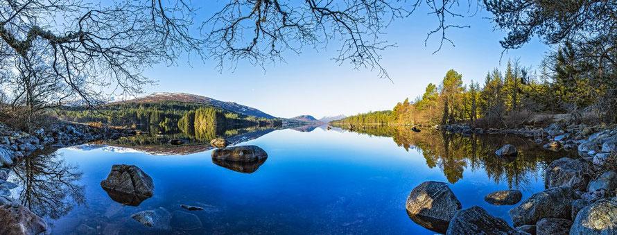 Loch Ossian, Scotland, Walking Weekend