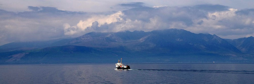 Guided walking on the Isle of Arran