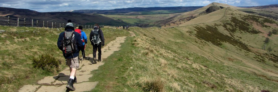 Cave Dale, Windy Knoll and Mam Tor guided walk, Peak District