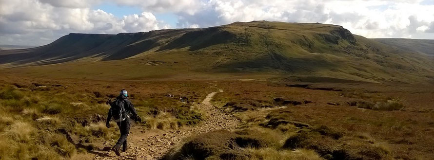View of the North Edge of KInder Scout