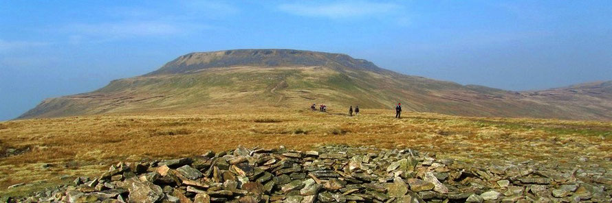 Yorkshire 3 Peaks in 3 Days.  Ingleborough.