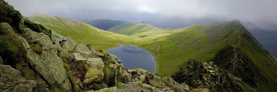 Helvellyn via Striding Edge Guided Walk. Photo Dreamstime