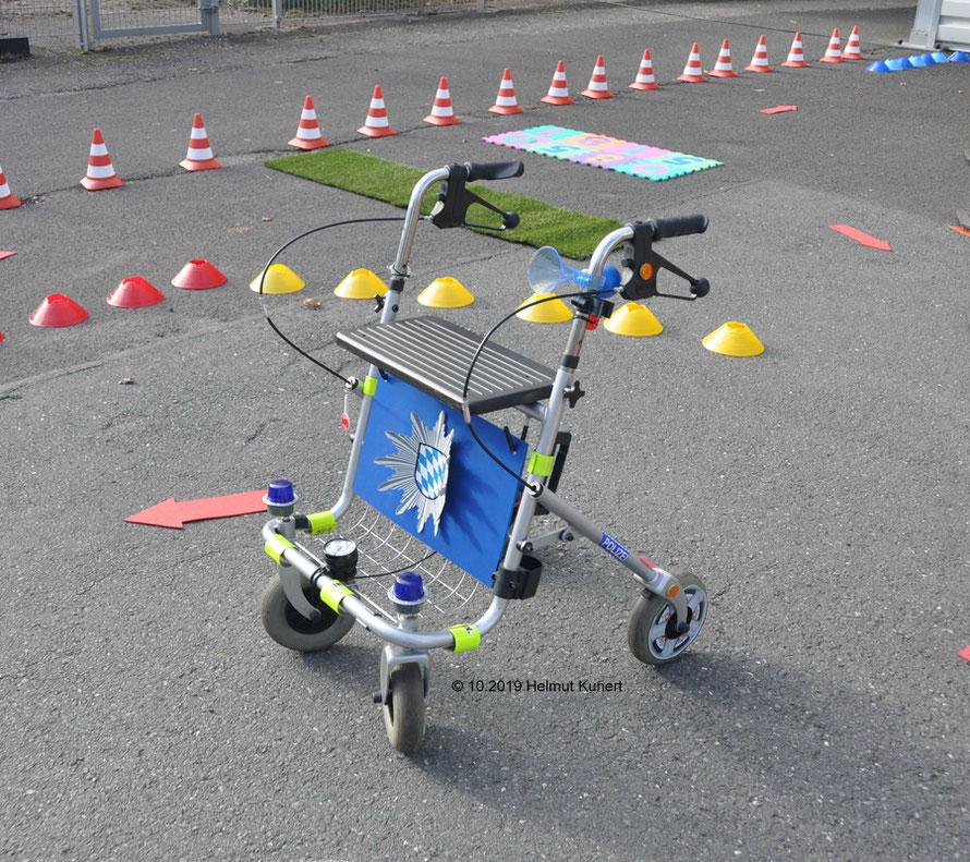 Auch Senioren sind im Straßenverkehr mit ihren Einschränkungen unterwegs!