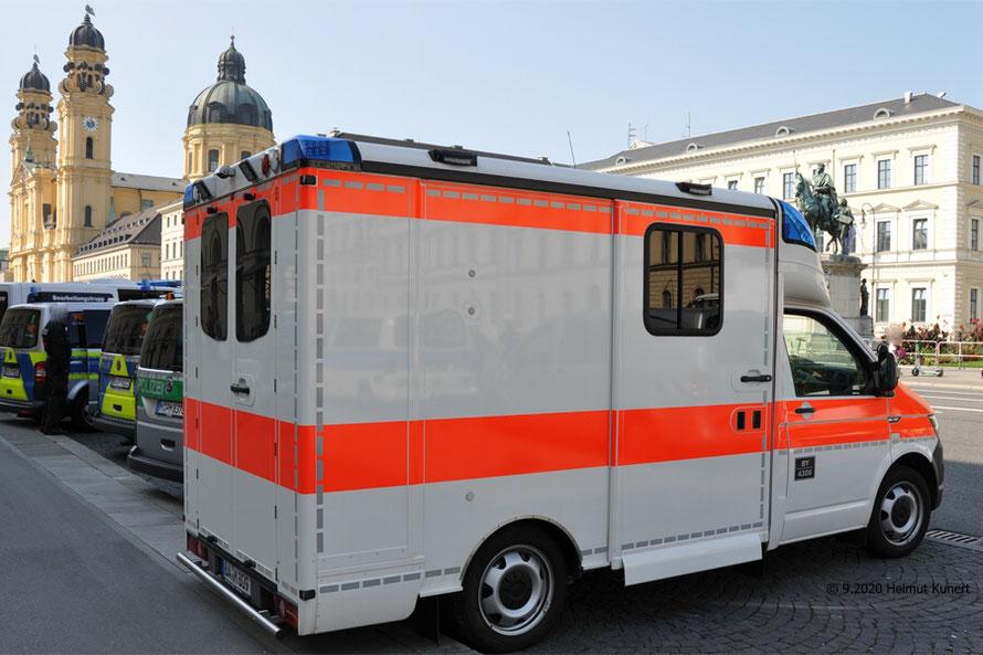 Im Demo-Einsatz in München