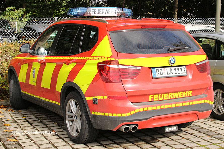 Hoher Feuerwehrgast.