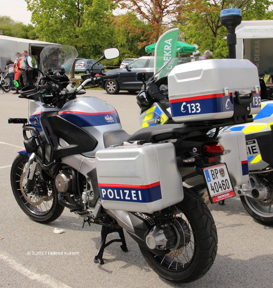 Österreich setzt auf Honda bei der Polizei.