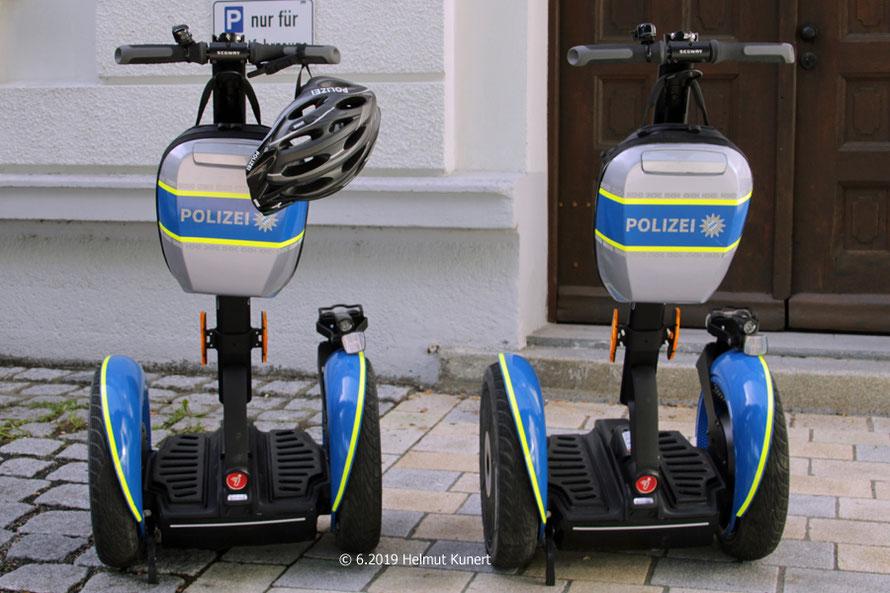die beiden Segway aus Regensburg