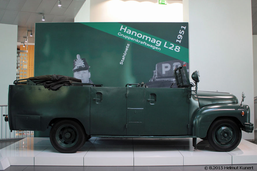 in offener Version, ausgestellt im Audi Forum