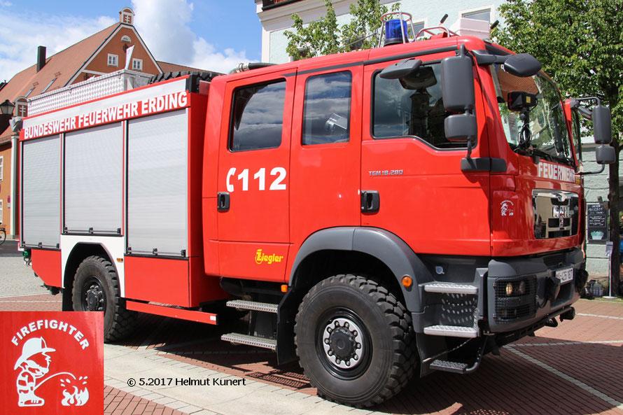 Firefighter Florian Bundeswehr Erding 49/1.