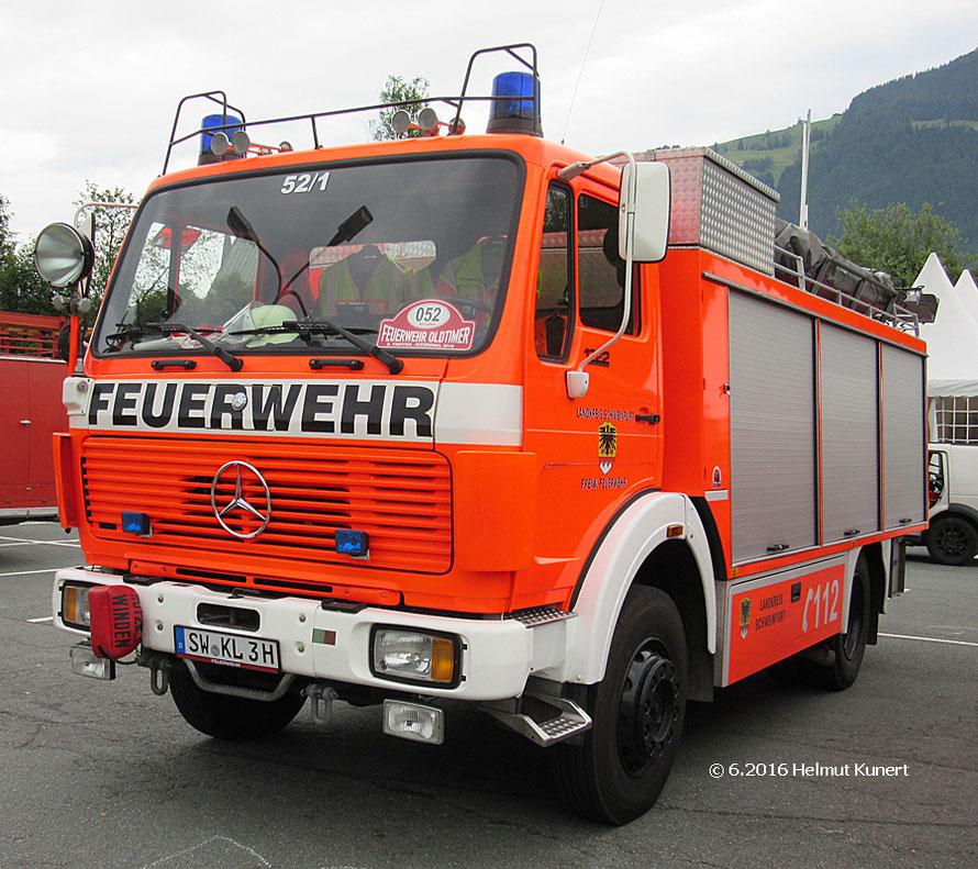 Ein ehemaliges Landkreis-Fahrzeug.