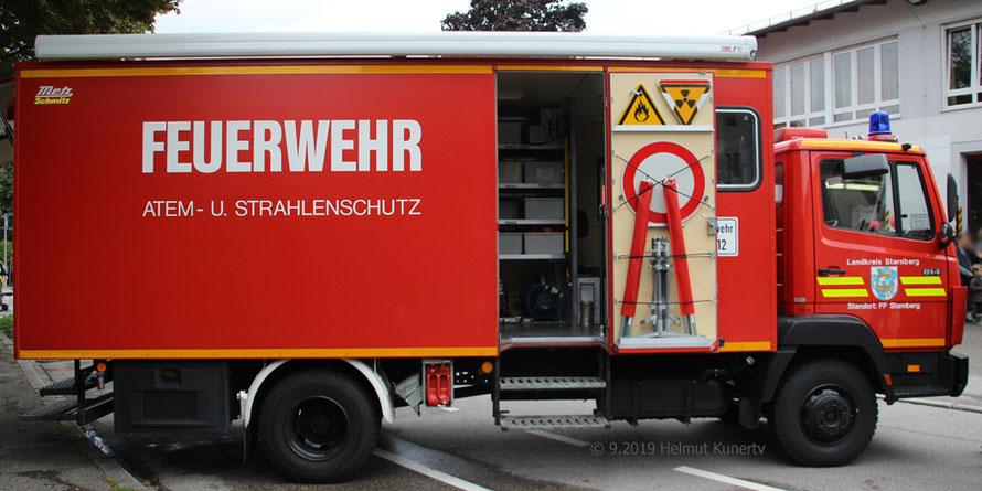 Kleiner Einblick in den  Gerätewagen Atem-/Strahlenschutz (GW-A/S), Florian Starnberg 53/1