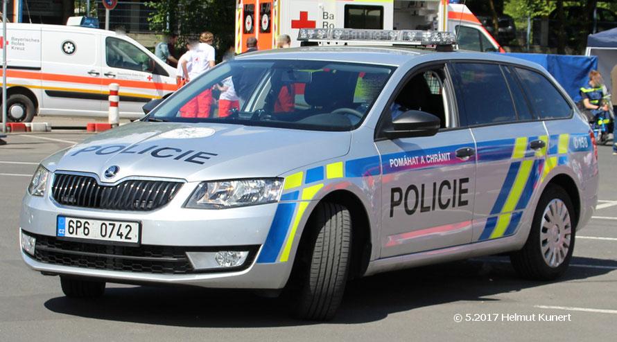 Skoda Oktavia 1Z als Standardwagen der Tschechischen Polizei.