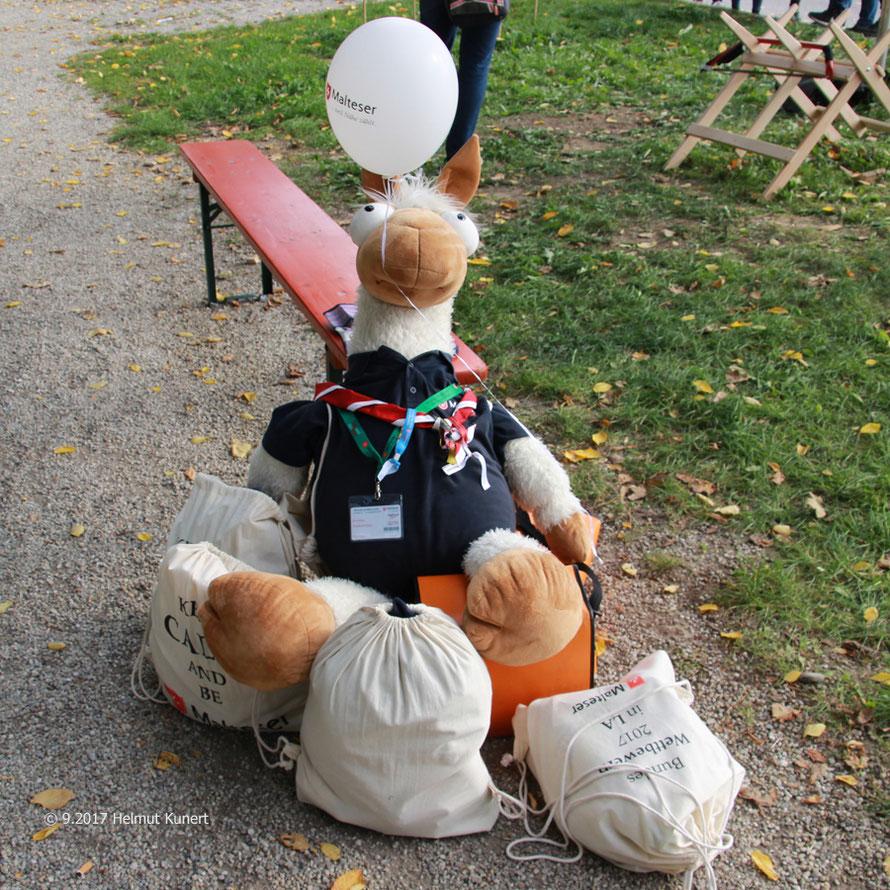 Ein Maskottchen gehört zu einer Teilnahme am Bundeswettbewerb!
