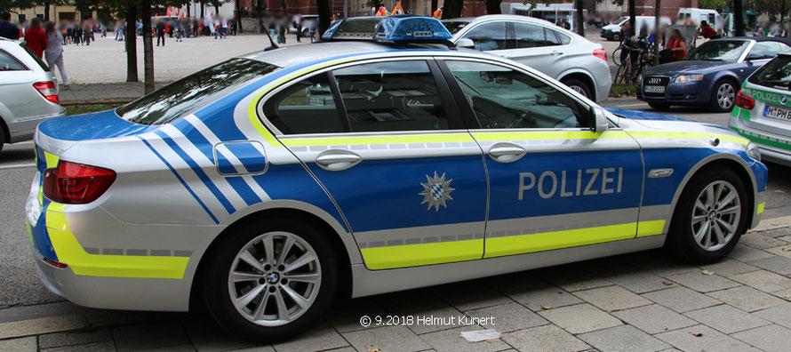 Aufnahmen oben von einer Demo in München