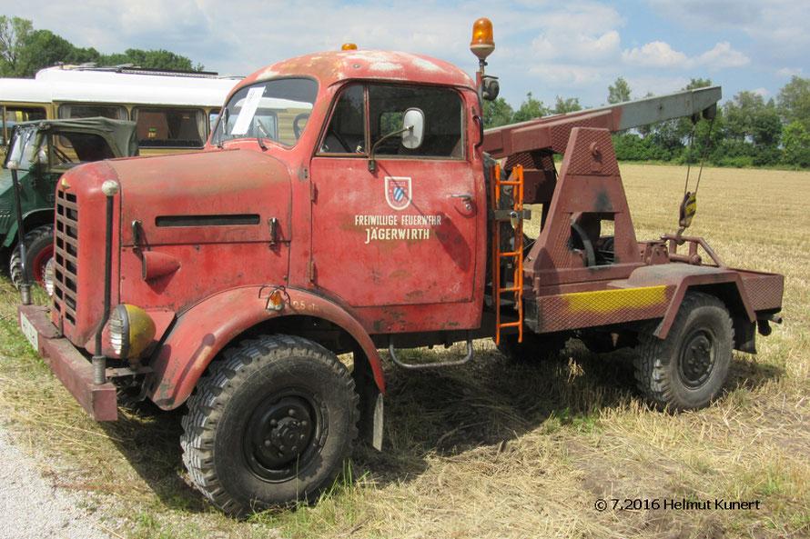 Hingucker!!! Kabine noch Original-Feuerwehr, Aufbau aus dem Zweitleben.