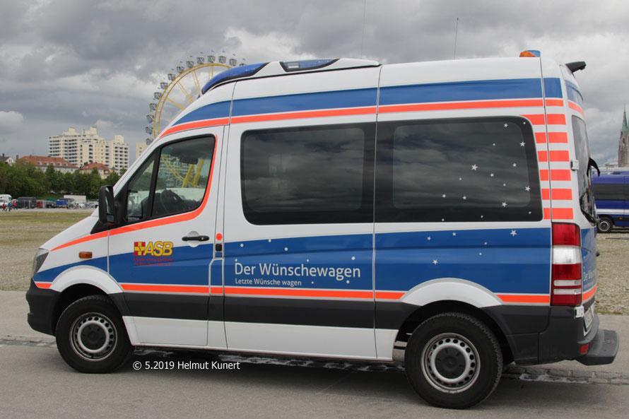 Der Wünschewagen aus München