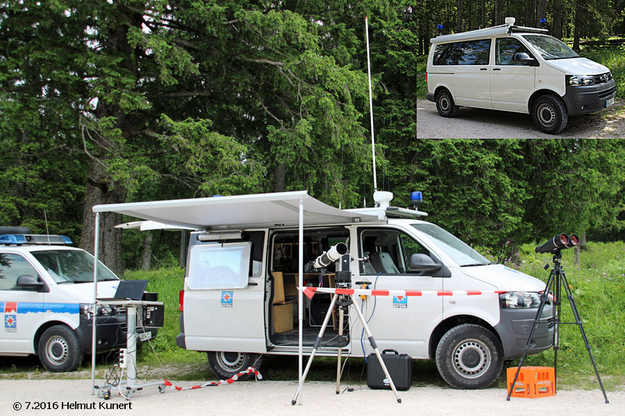 Technik vom Feinsten zum Suchen und Orten auch mittels Drohnen.