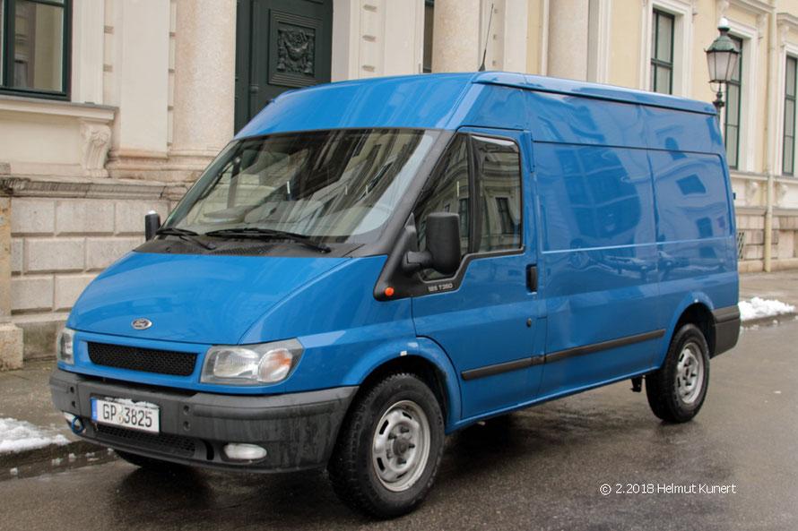 Eines der wichtigsten Fahrzeuge bei der BePo.