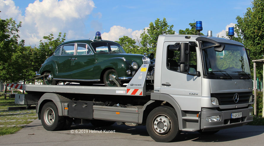 Huckepack aus München angereist, die ISAR 12