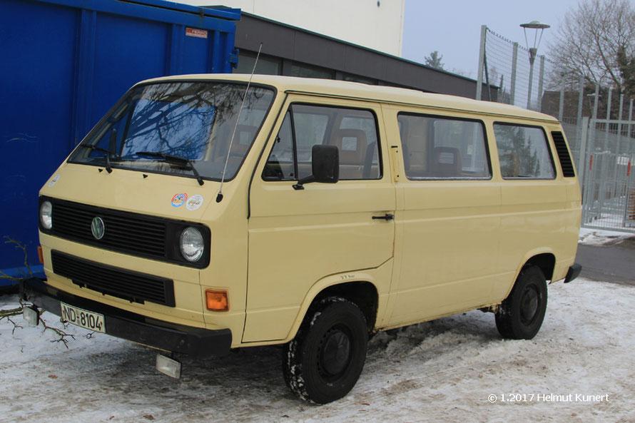 K-Schutz-Fahrzeug ohne Blaulicht