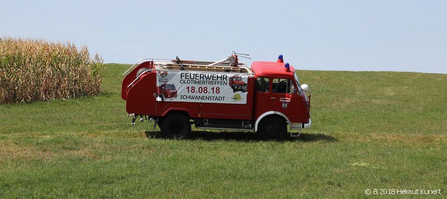 Danke an die Organisatoren/Feuerwehr für die freundliche Unterstützung, Auf-und Mitnahme.