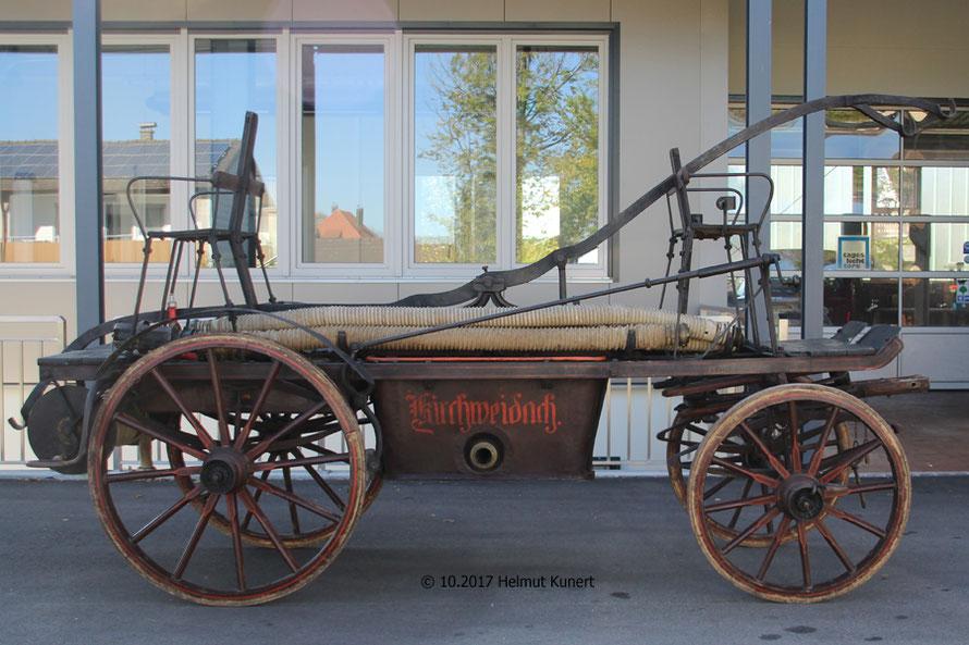 Gebaut vom Glockengiesser Ludwig Strasser aus Burghausen, seit 1873 in Kirchweidach