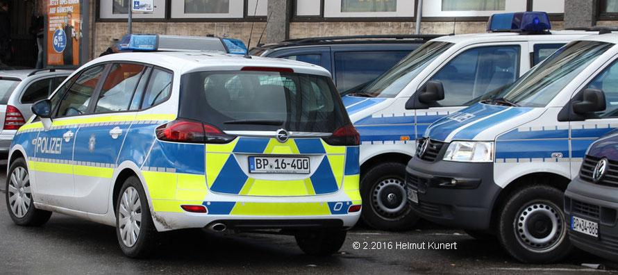 Bei der Bundespolizei blüht das Gelb