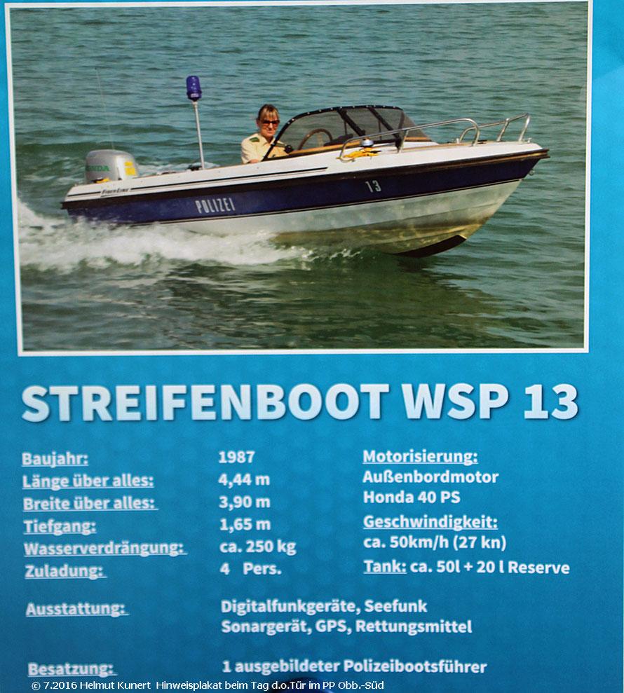 Bootsanhänger ist von der Fa. Harbeck Waging am See