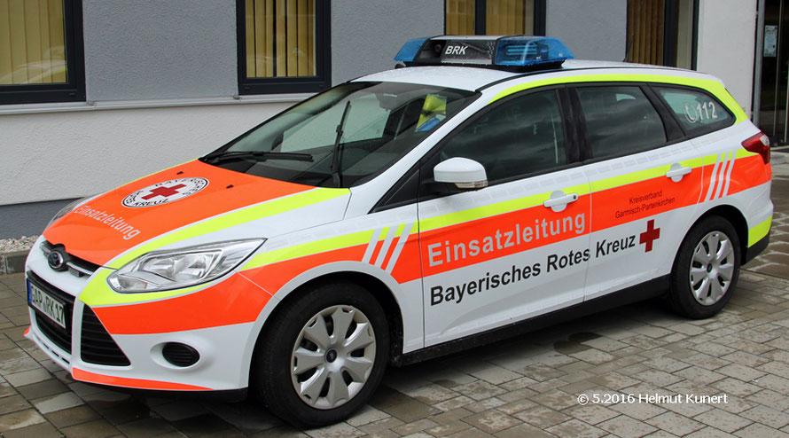 Rotkruez Garmisch 10/3 an der Dienststelle
