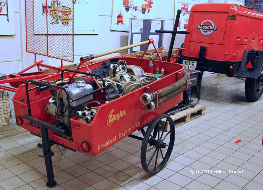 Der Freistaat Bayern ist schon immer für die Feuerwehren da.