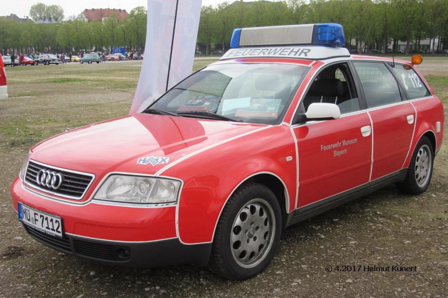 Noch kein Oldtimer der Audi vom Feuerwehrmuseum Bayern in Waldkraiburg