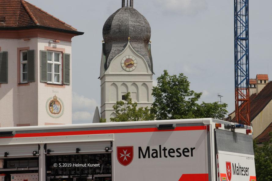 60 Jahre Malteser HIlfsdienst in Erding.